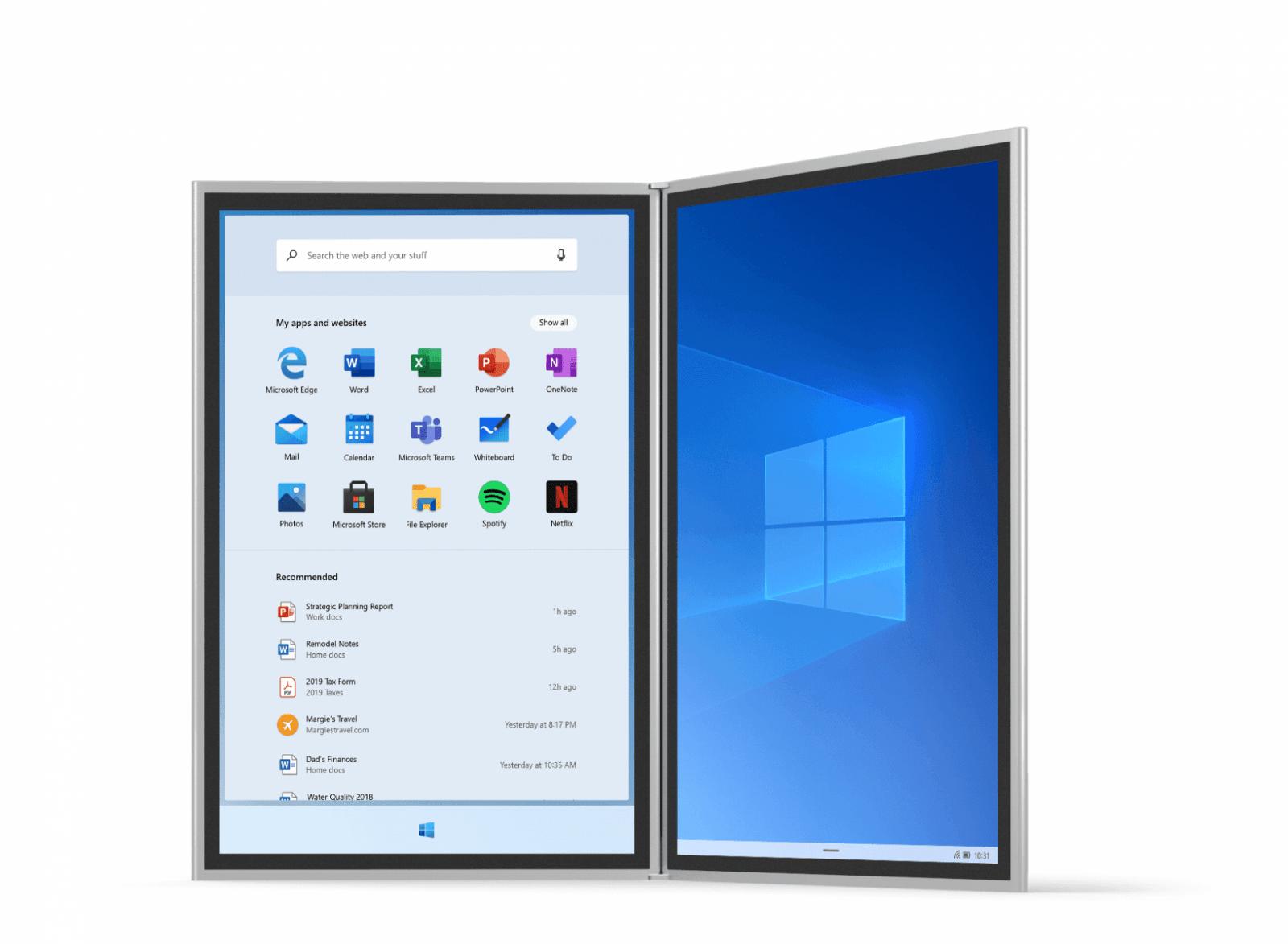 Microsoft анонсировала новую ОС Windows 10X (1570093783 device 01 journal)