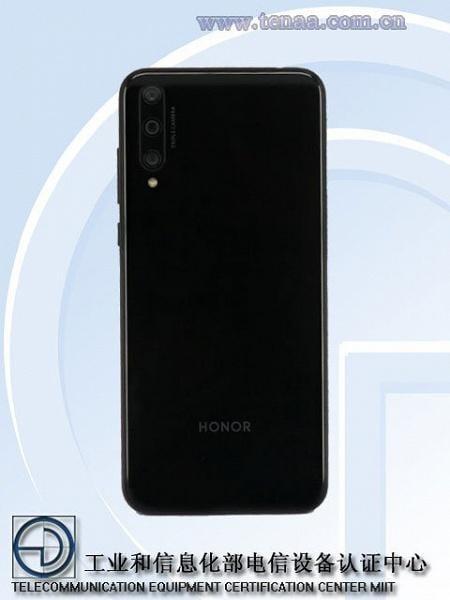Бюджетный смартфон Honor 20 SE засветился в базе TENAA (19023364 b)