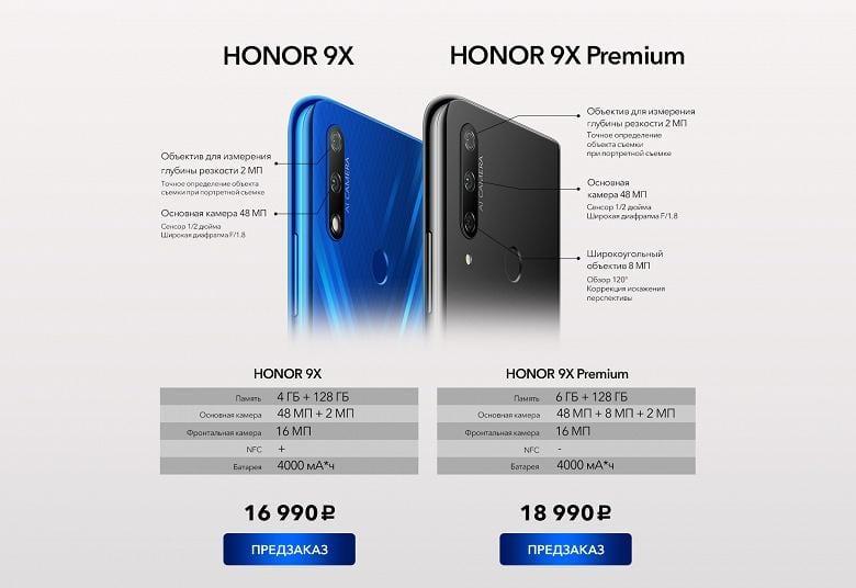 Honor представил смартфон Honor 9X в России (a02a787e a670 4055 8c6e 40725cb290b0 large)
