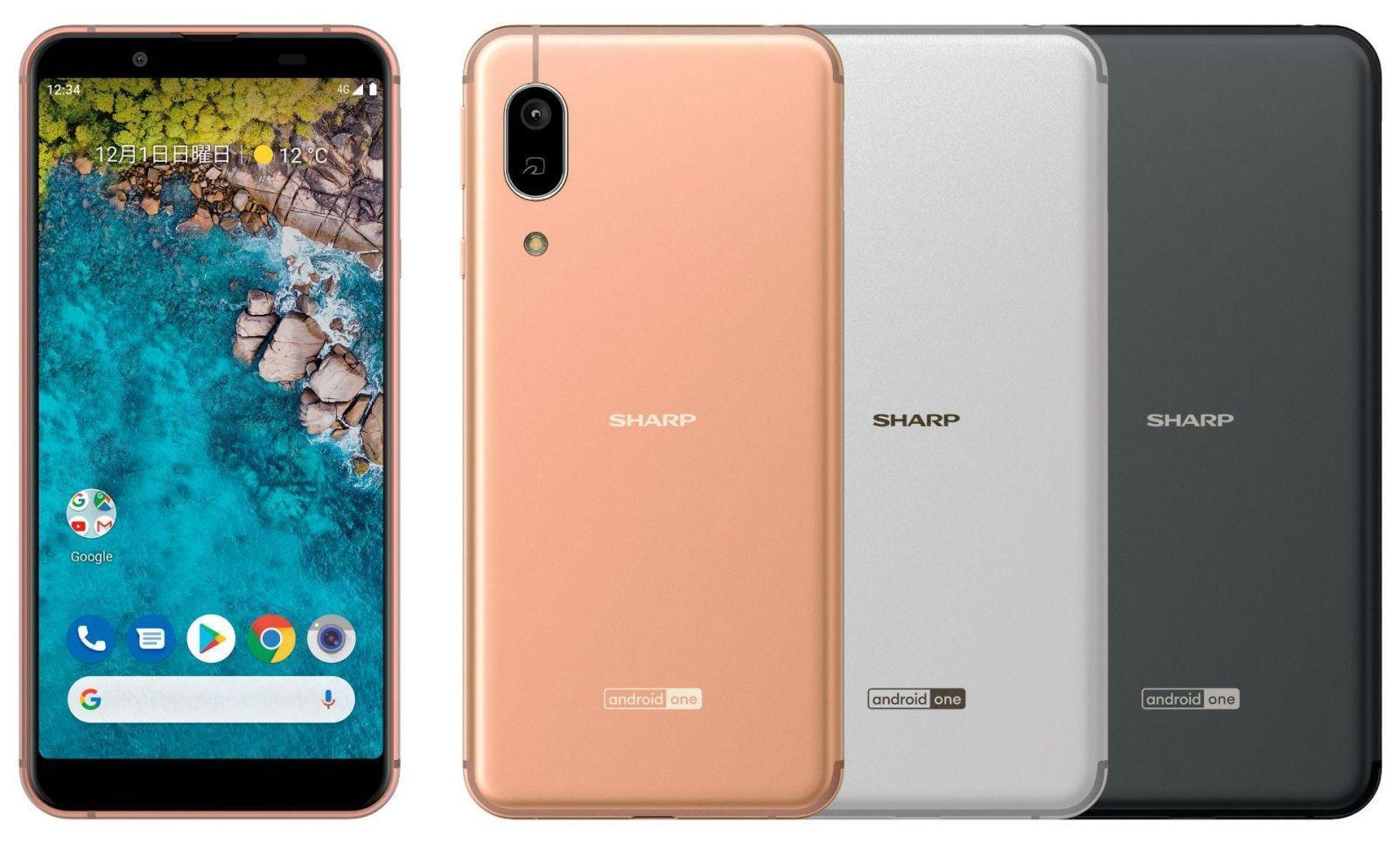 Sharp выпускает смартфон Sharp S7 (android one s7)