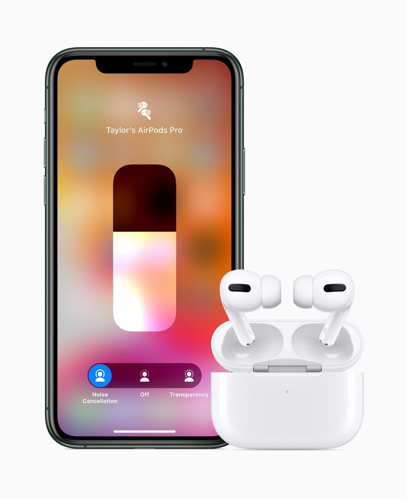 Apple выпустила AirPods Pro c шумоподавлением (apple airpods pro iphone11 pro 102819)