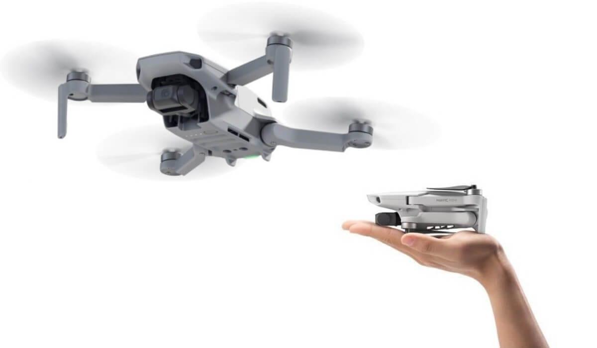 Компания DJI представила дрон Mavic Mini весом всего 249 грамм (dji mavic mini drone lightest drone)
