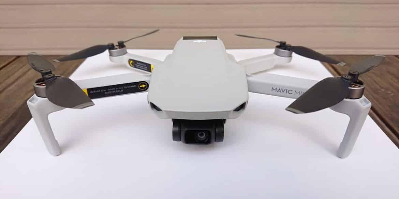 Компания DJI представила дрон Mavic Mini весом всего 249 грамм (dji mavic mini no prop guard)
