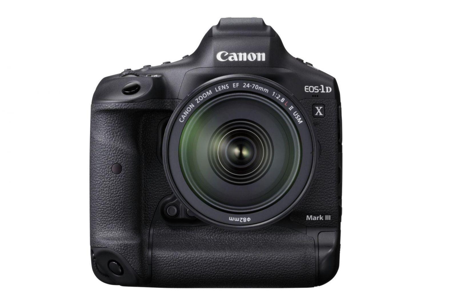 Canon анонсировал разработку EOS-1D X Mark III (eos 1d x mark iii frt)