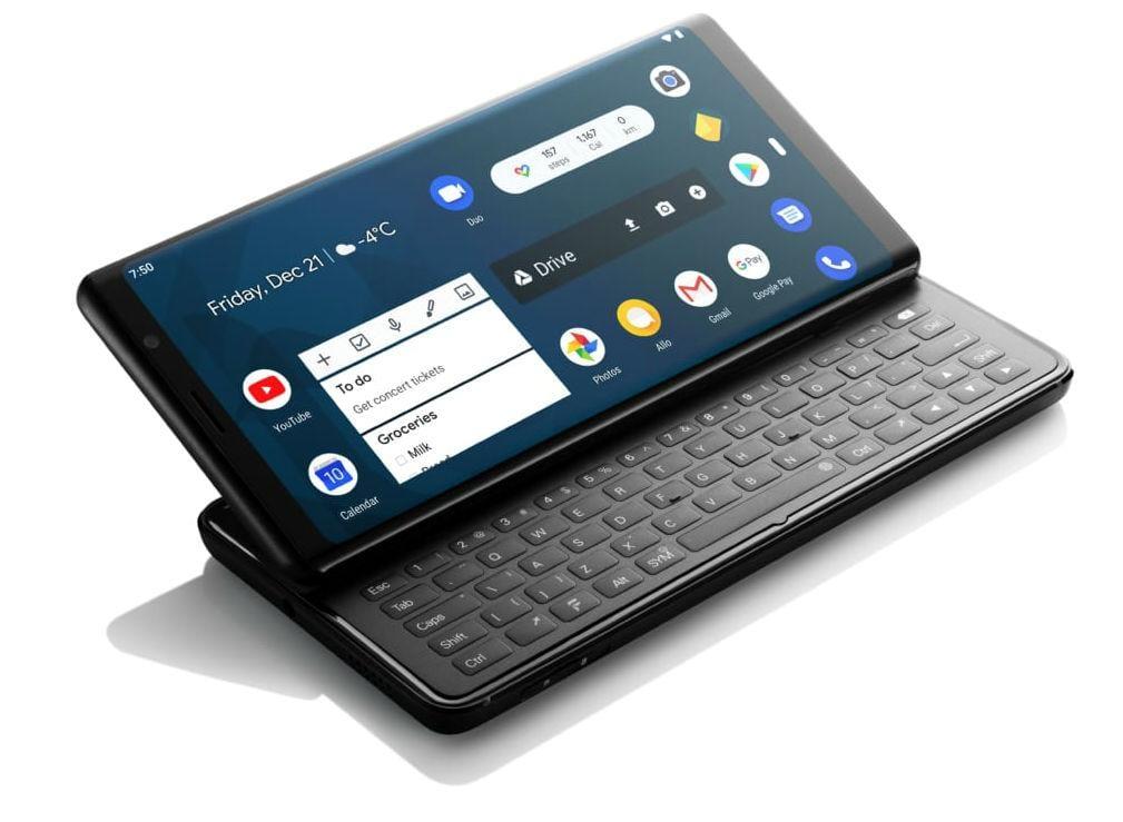 В продажу поступил смартфон F(x)tec Pro1 с выдвижной клавиатурой (fxtec pro1 004)