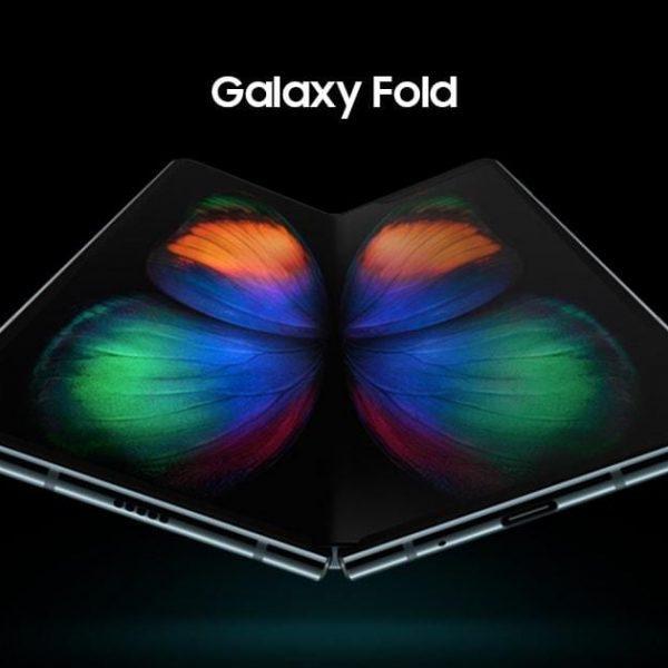 В России стартуют продажи складного смартфона Samsung Galaxy Fold (galaxy fold share)
