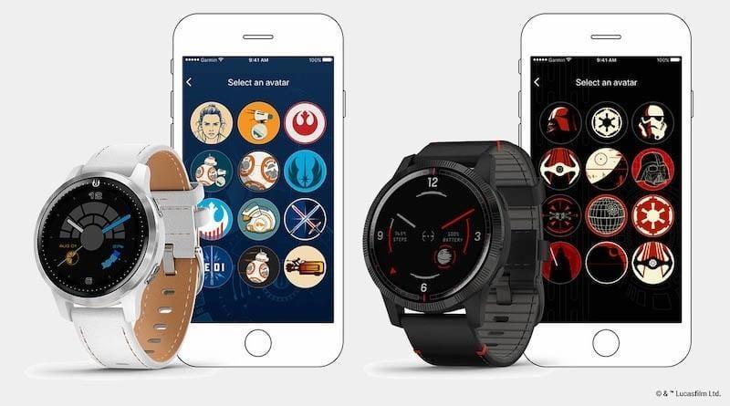 Компания Garmin выпустила умные часы Legacy Saga (garmin to immortalize heroes and villains of star wars with new smartwatches)