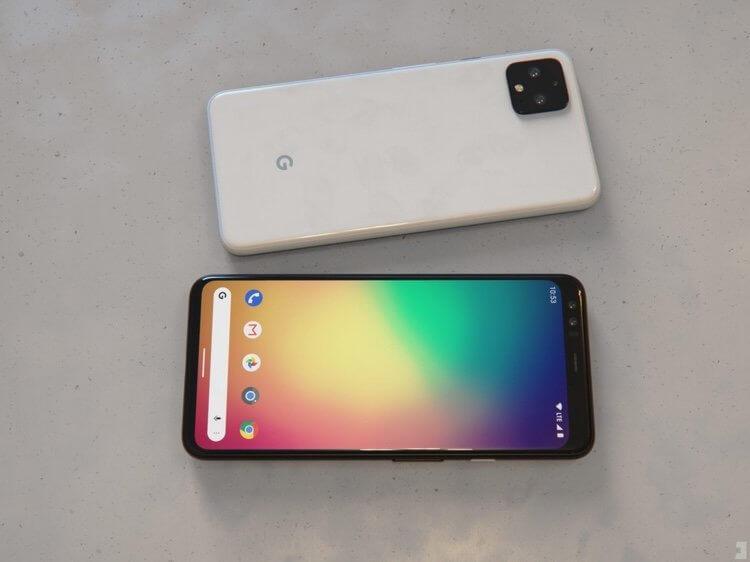 Компания Google официально представила смартфоны Pixel 4 и Pixel 4 XL (google pixel 4 xl)