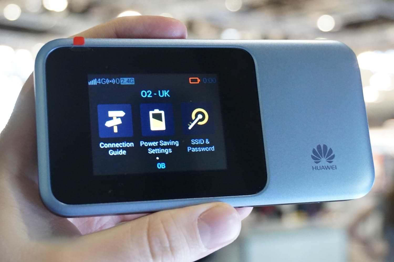 Huawei анонсировала портативный роутер для работы с сетями 5G (huawei 5g mobile wi fi 00)