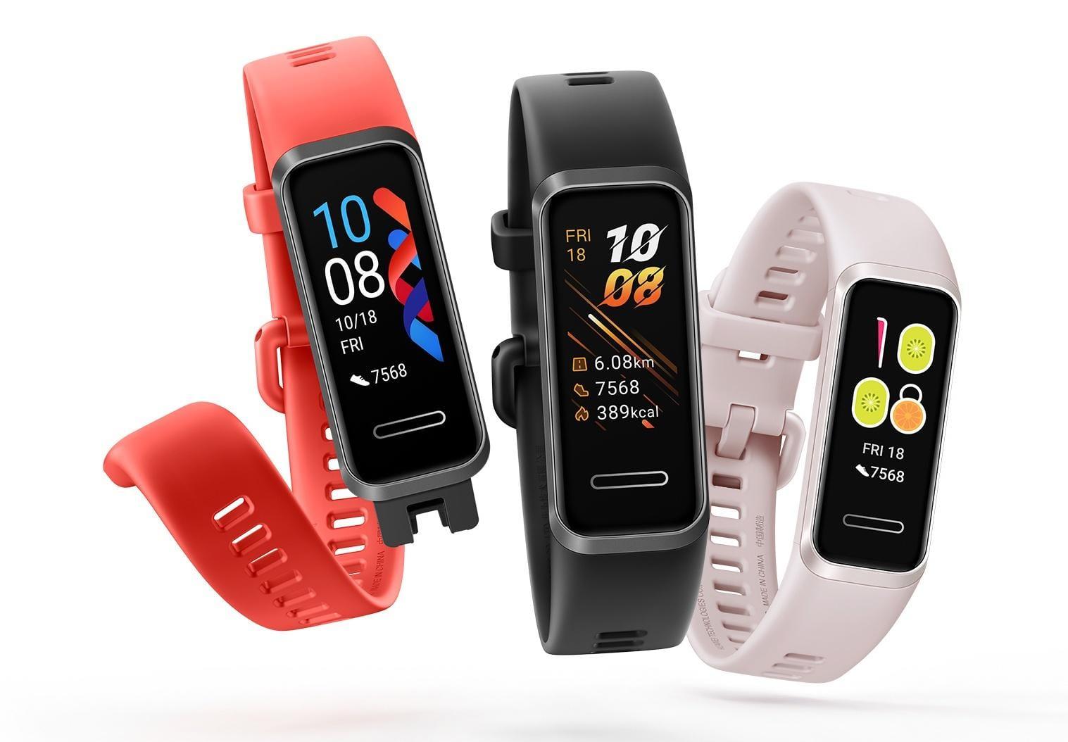 Объявлен старт продаж в России фитнес-браслета Huawei Band 4 (huawei band 4 large)
