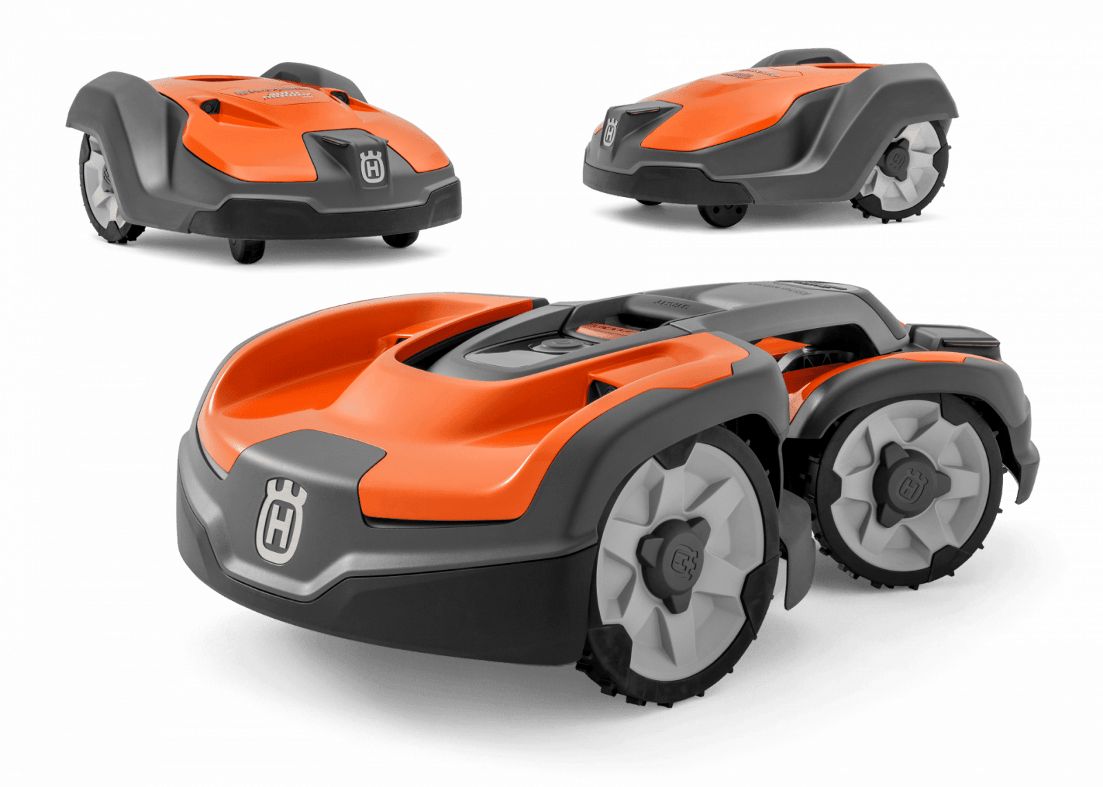 Газонокосилки-роботы Husqvarna теперь работают через спутник (husqvarna automower professional 1)