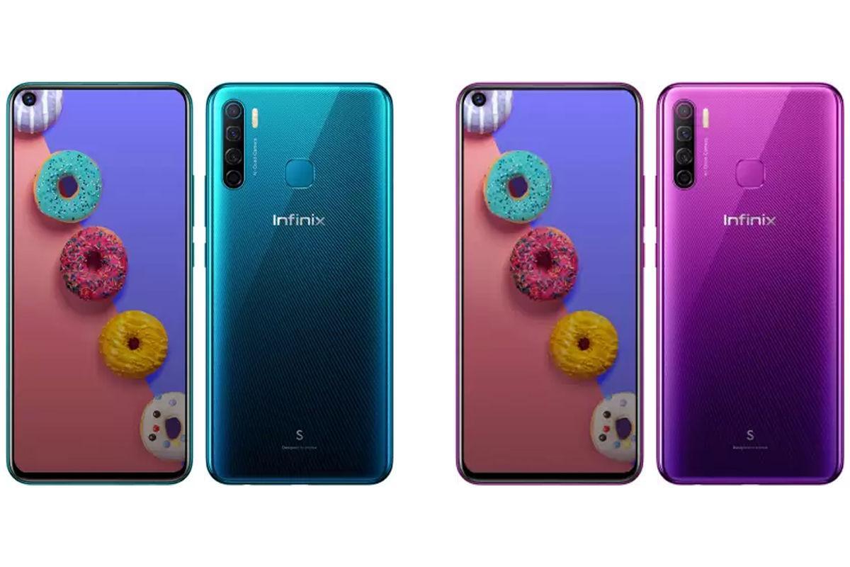 Компания Infinix представила смартфон Infinix S5 (infinix s5)