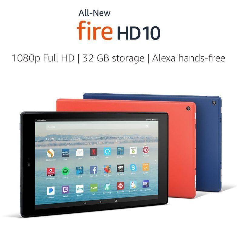 Компания Amazon представила планшет Amazon All-New Fire HD (kindle fire hd 10 mwwwks)