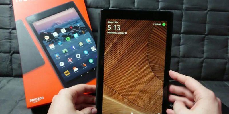 Компания Amazon представила планшет Amazon All-New Fire HD (maxresdefault 3)