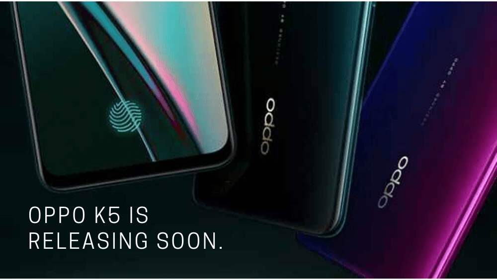 Компания Oppo представила смартфон Oppo K5 (oppo k5 is releasing soon.)