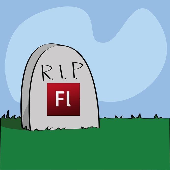 Google полностью отказался от Flash Player (rip flash)