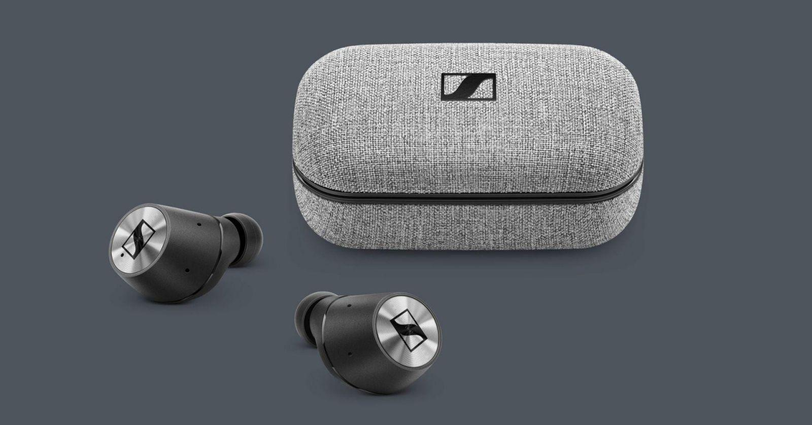 Sennheiser представила саундбар с технологией 3D-звучания и улучшенные наушники (sennheiser momentum true wireless case and buds source sennheiser)