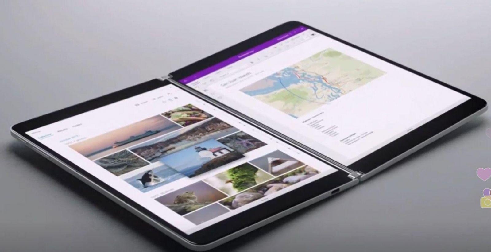 Microsoft анонсировала двухэкранный ноутбук-планшет Surface Neo (surface neo)