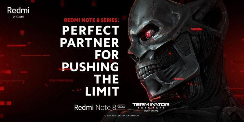 Xiaomi представила версию Redmi Note 8 Pro для фанатов Терминатора (terminator note 8 pro 3)