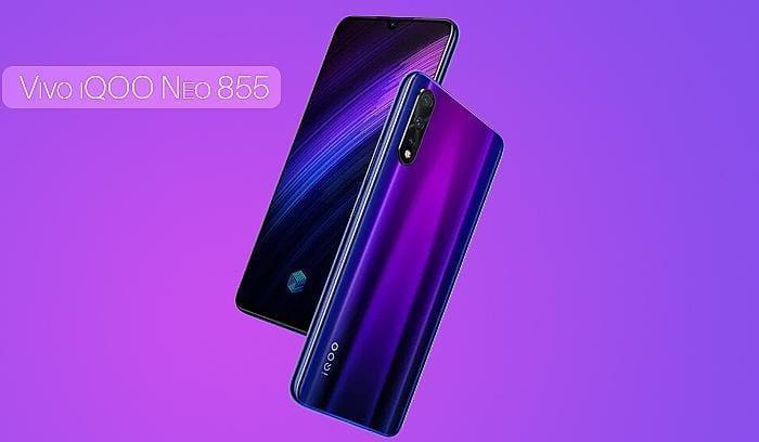 Компания Vivo представила игровой смартфон Vivo IQOO Neo 855 Edition за 280 долларов (vivo iqoo neo 855 smartphone specifications)
