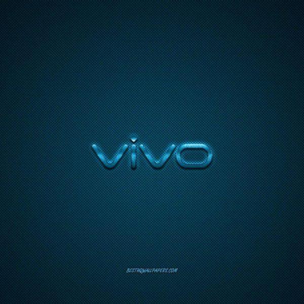 Vivo готовится выйти на рынок портативных аккумуляторов (vivo logo blue shiny logo vivo metal emblem wallpaper for vivo smartphones blue carbon fiber texture 1)