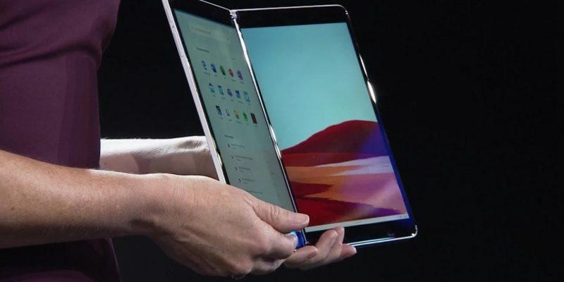 Microsoft анонсировала новую ОС Windows 10X (windows 10x surface neo)