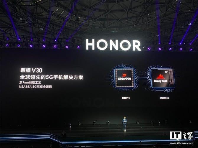 Бренд Honor представил смартфоны Honor V30 5G и V30 Pro 5G (000)