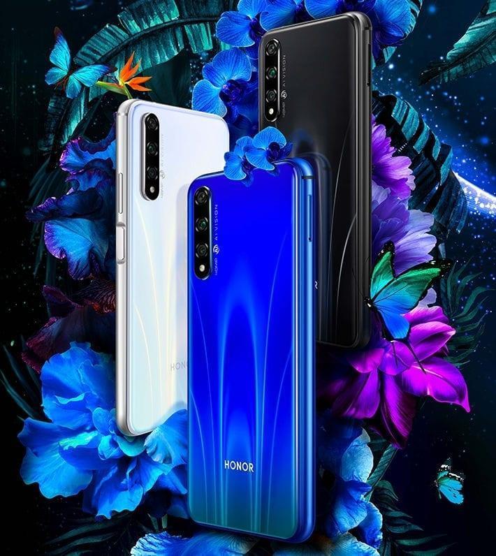 Huawei представила российскую версию смартфона Honor 20S (10)