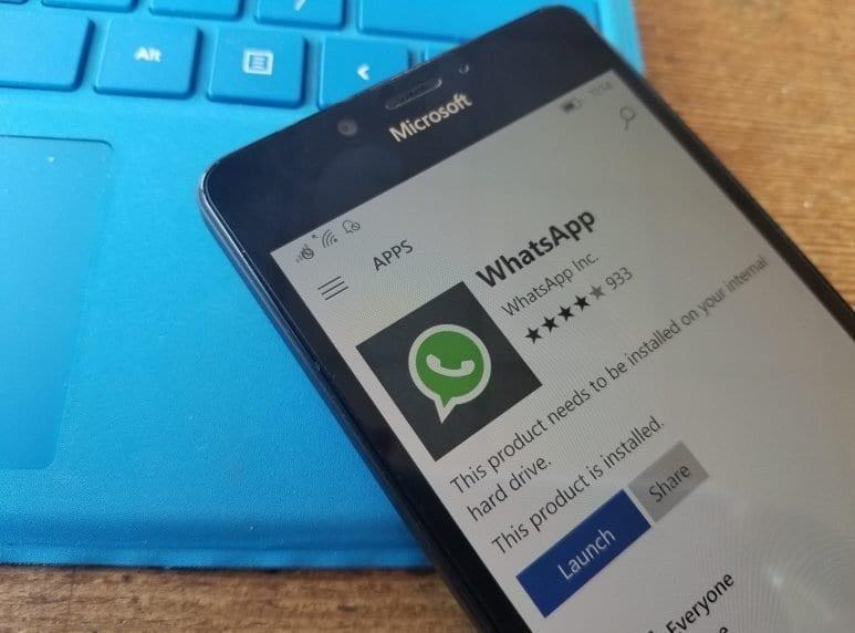 Windows Phone и Windows Mobile перестанет поддерживать WhatsApp (1557302261 whatsapp windows phone)