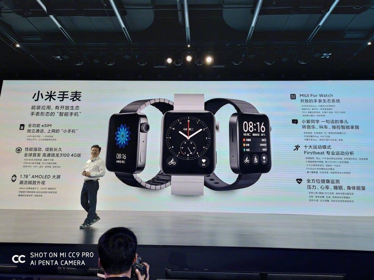 Компания Xiaomi представила умные часы Xiaomi Mi Watch за 185 долларов (2019 11 05 12 42 52)