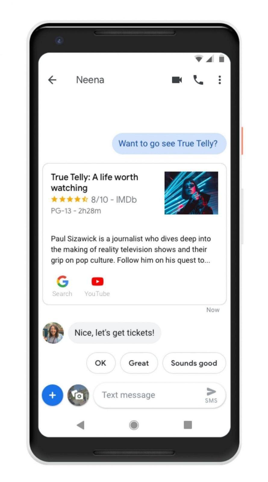 MWC 2019. Голосовой помощник Google получит интеграцию с Android Messages (dims 2 scaled)