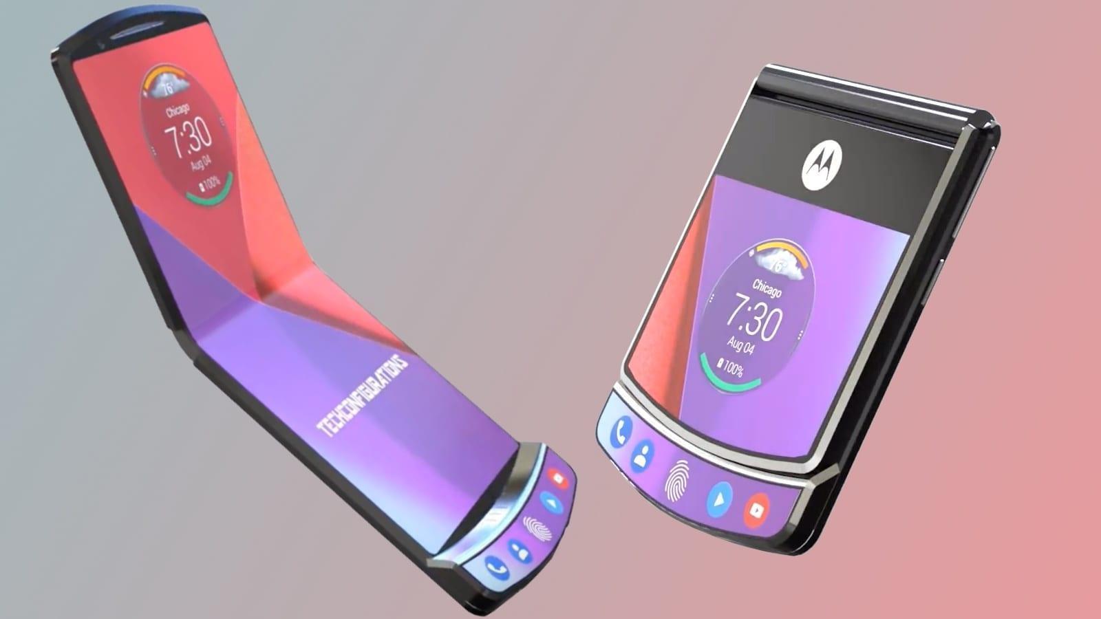 Motorola представила смартфон-раскладушку Motorola Razr (motorola razr1)