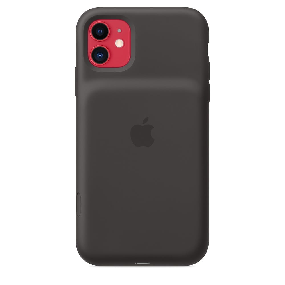 Apple выпустила горбатый чехол с дополнительной батареей для iPhone 11 (mwvh2 av5)