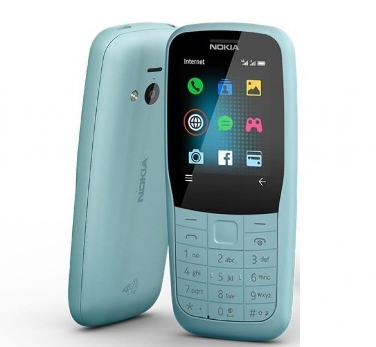 В России появился кнопочный телефон Nokia 220 с поддержкой 4G (nokia 220 4g)