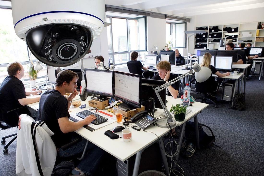 МТС разработала оборудование для контроля за сотрудниками (office cctv)