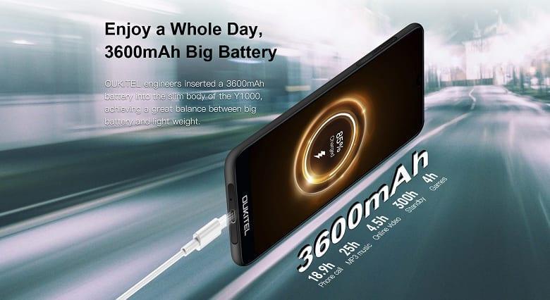Компания Oukitel представила неубиваемый смартфон Oukitel Y1000 (oukitel y1000 battery large)