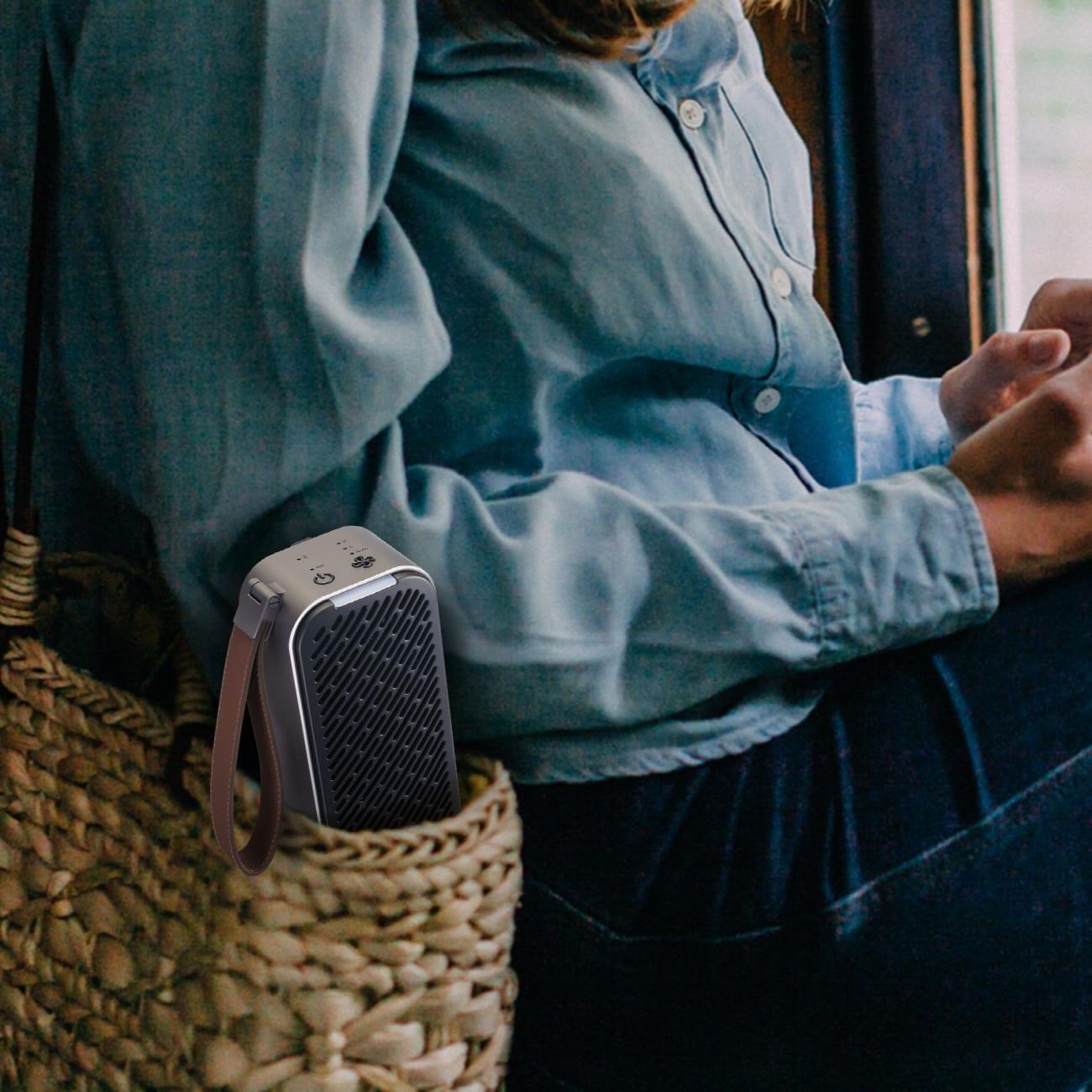 LG выпускает портативный очиститель воздуха LG PuriCare Mini (puricare mini 03)