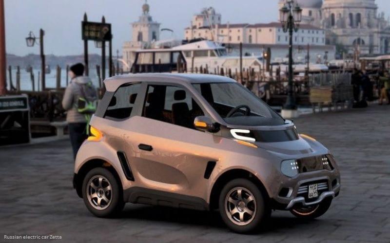 Atos намерен создать парк служебных электромобилей к 2024 году (russian electric car zetta)