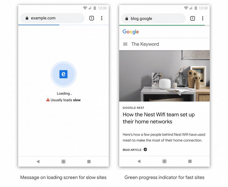 Google будет ставить метки на медленные сайты (tweet)