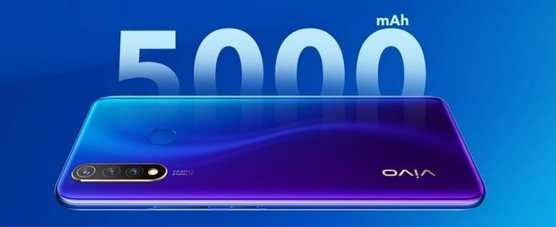Vivo анонсировала недорогой смартфон Vivo Y5s с аккумулятором на 5000 мАч (vivoys5 1)