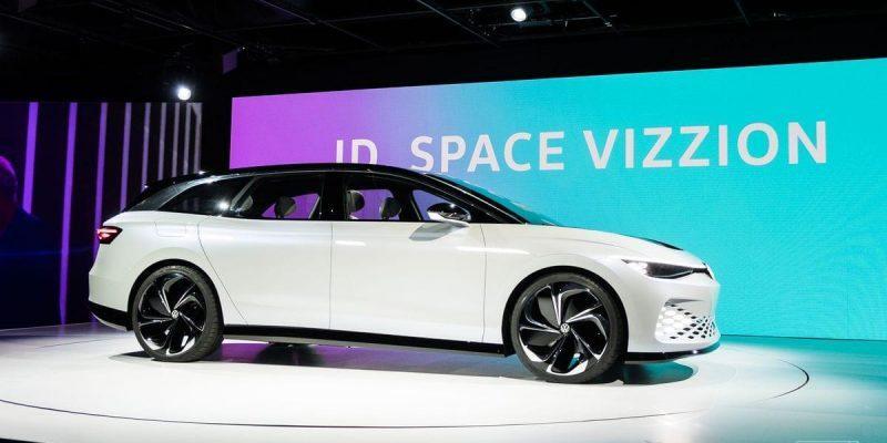 Volkswagen представил электромобиль Volkswagen ID Space Vizzion (vw id space vizzion 6949.0)