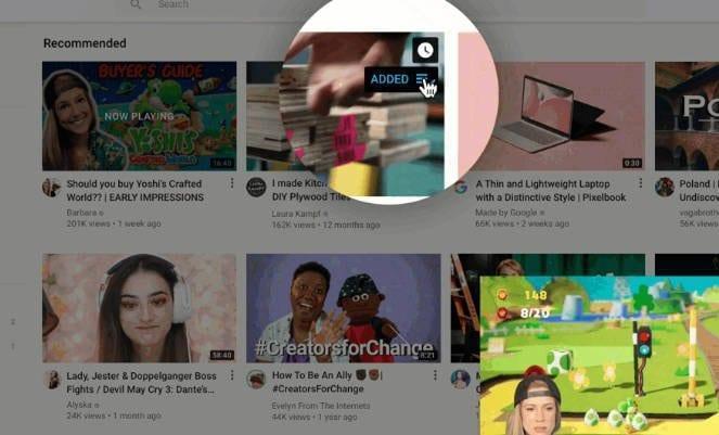 YouTube получил несколько новых обновлений (youtube insert)