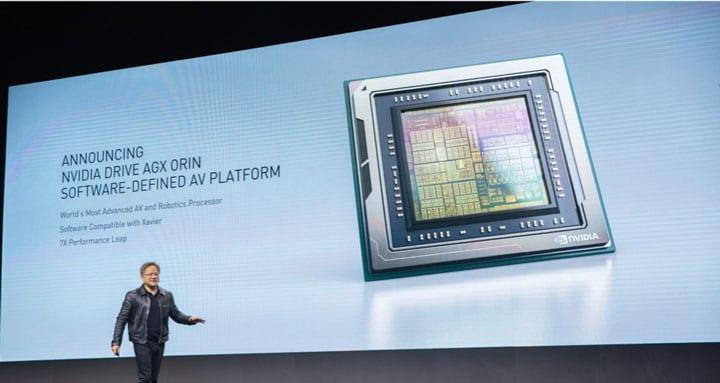 NVIDIA создала сверхмощный чип для беспилотников (125898 nvidia drive agx orin 2)