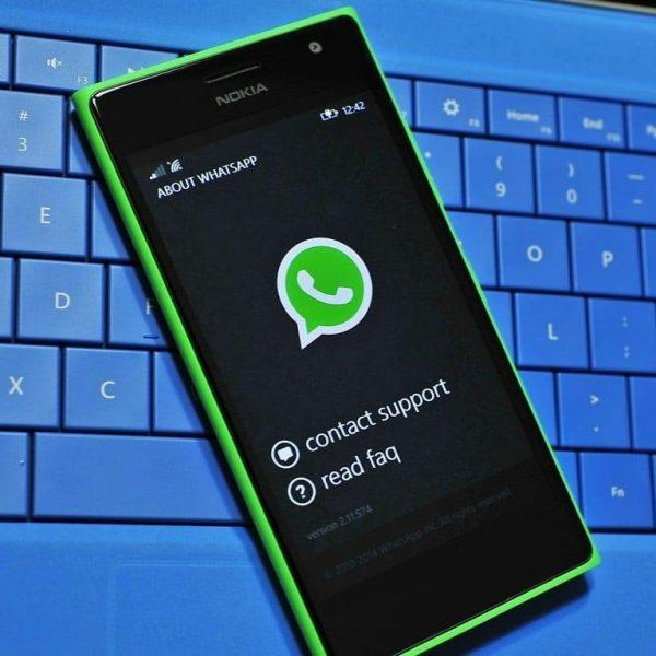 WhatsApp больше не поддерживает телефоны с Windows (1e16d230 2537 4bde 83f6 df52f441ae12)