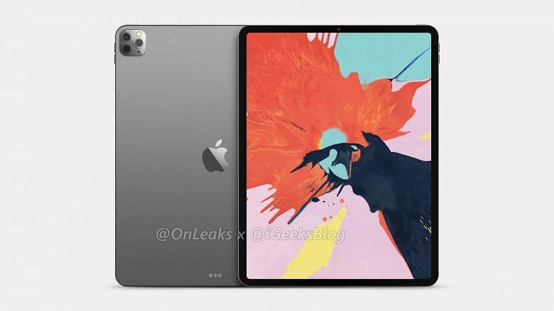 В Сеть просочились качественные рендеры iPad Pro 2020 (2 3)