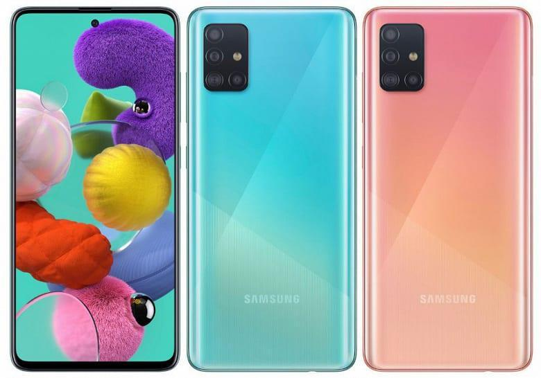 Samsung представил смартфон Galaxy A51 (2)