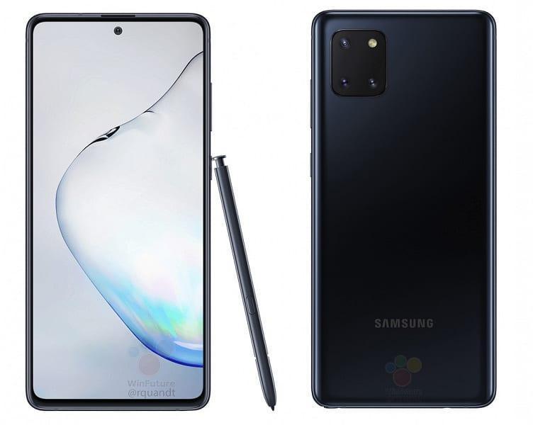 Инсайдер рассекретил характеристики смартфона Samsung Galaxy Note 10 Lite (3123123 large)