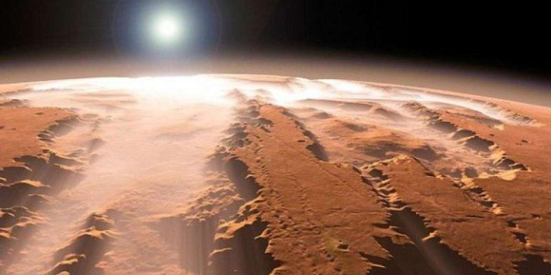 NASA создала карту воды на поверхности Марса (3126)