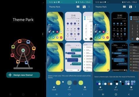 Samsung выпустила приложение, позволяющее создавать собственные цветовые темы (543)