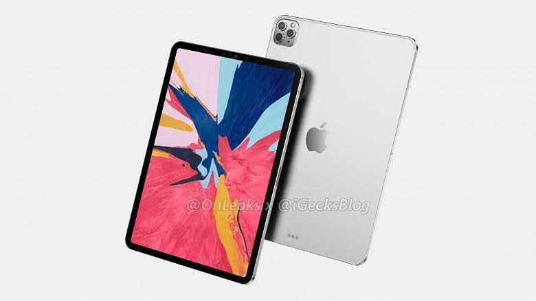В Сеть просочились качественные рендеры iPad Pro 2020 (c11)